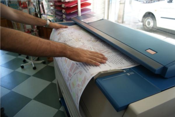 Escaneo de planos