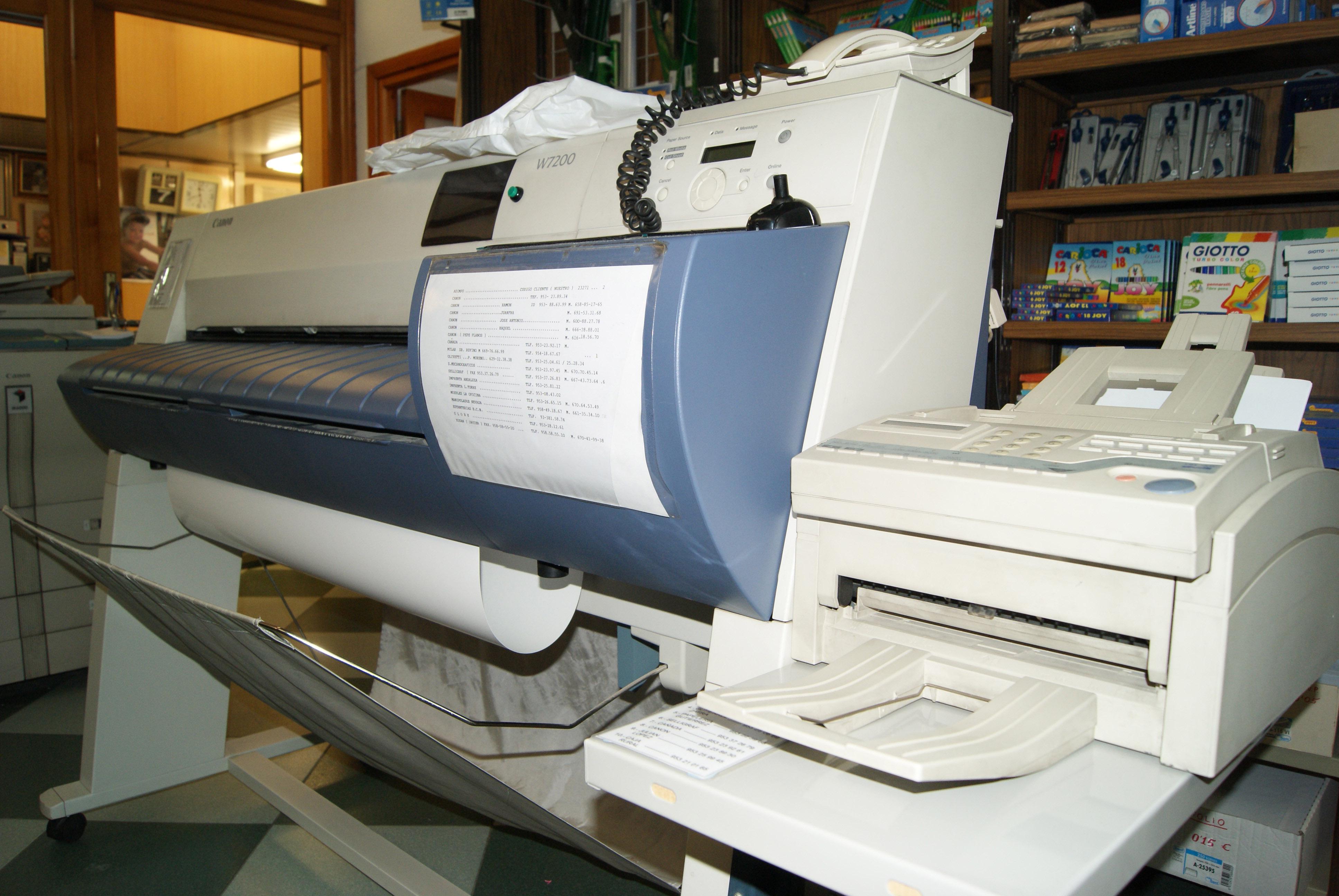 Impresora de planos y posters